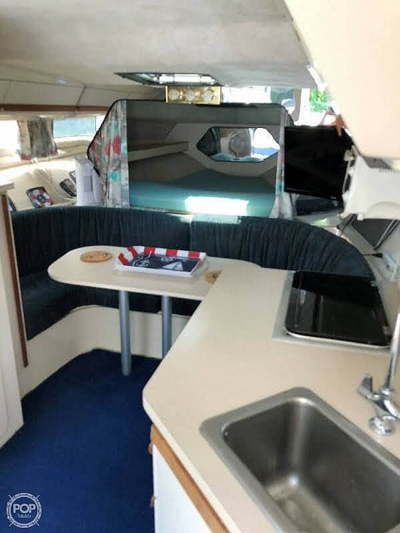 1989 Carver boat for sale, model of the boat is 2767 Santego & Image # 8 of 16