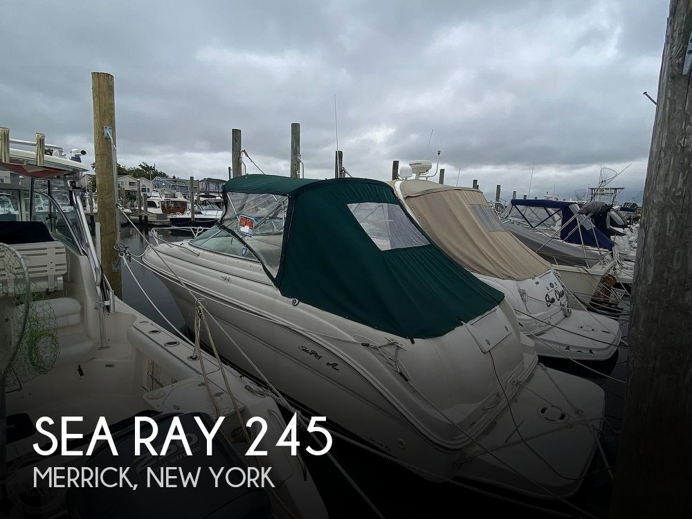 2001 Sea Ray boat for sale, model of the boat is 245 weekender & Image # 1 of 40