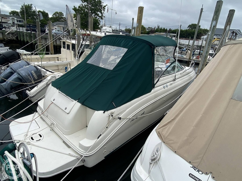 2001 Sea Ray boat for sale, model of the boat is 245 weekender & Image # 13 of 40