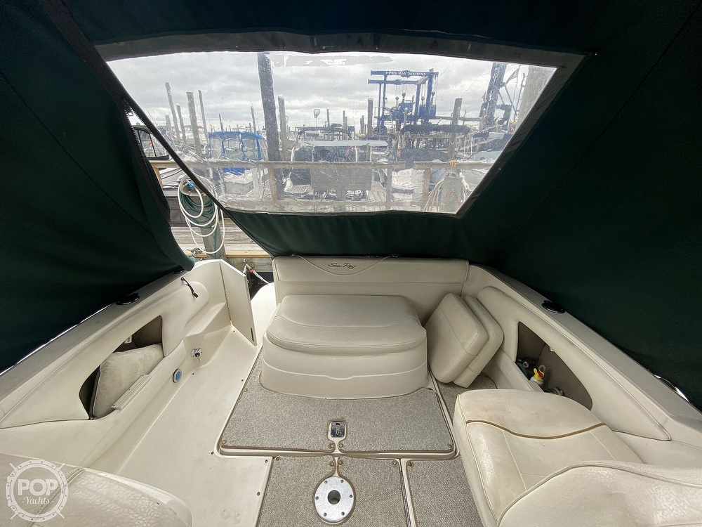 2001 Sea Ray boat for sale, model of the boat is 245 weekender & Image # 3 of 40