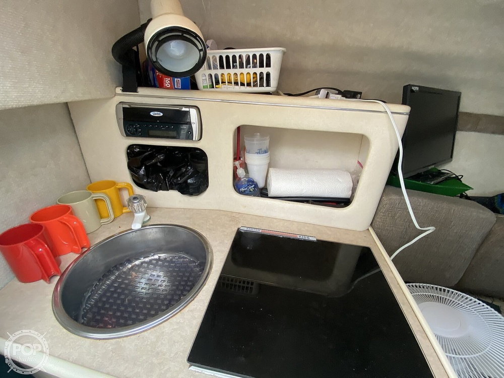 2001 Sea Ray boat for sale, model of the boat is 245 weekender & Image # 7 of 40