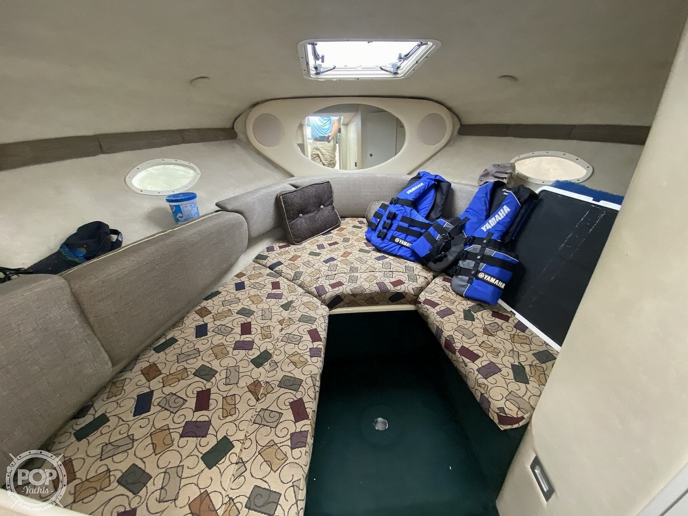 2001 Sea Ray boat for sale, model of the boat is 245 weekender & Image # 8 of 40