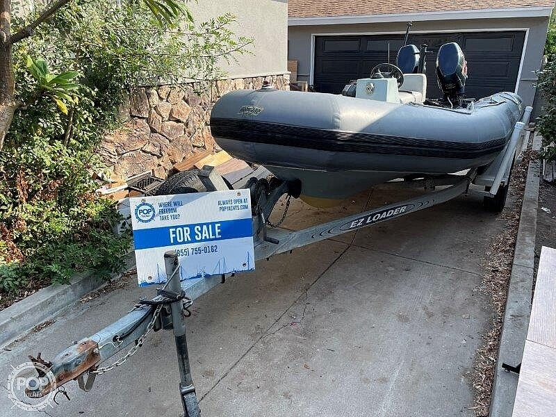 1999 Zodiac boat for sale, model of the boat is Hurricane H533 & Image # 4 of 40