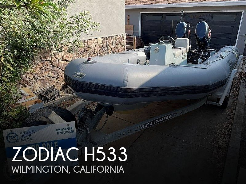 1999 Zodiac boat for sale, model of the boat is Hurricane H533 & Image # 1 of 40