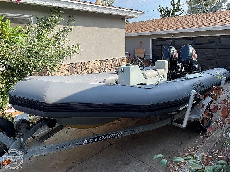 1999 Zodiac boat for sale, model of the boat is Hurricane H533 & Image # 6 of 40