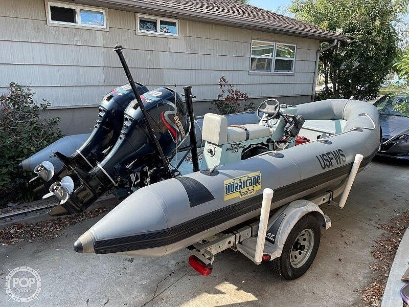 1999 Zodiac boat for sale, model of the boat is Hurricane H533 & Image # 8 of 40