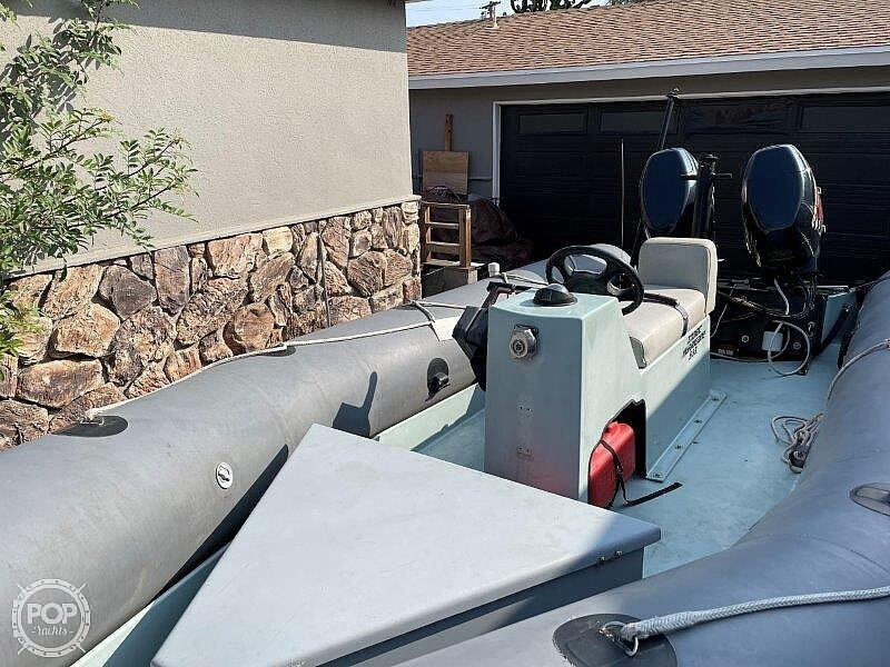 1999 Zodiac boat for sale, model of the boat is Hurricane H533 & Image # 9 of 40