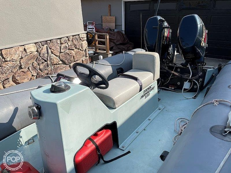 1999 Zodiac boat for sale, model of the boat is Hurricane H533 & Image # 10 of 40