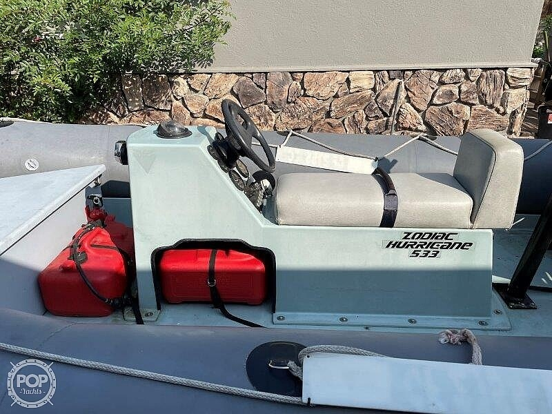 1999 Zodiac boat for sale, model of the boat is Hurricane H533 & Image # 11 of 40