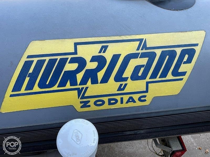 1999 Zodiac boat for sale, model of the boat is Hurricane H533 & Image # 13 of 40