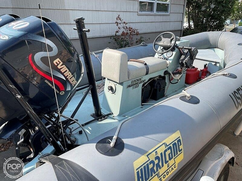 1999 Zodiac boat for sale, model of the boat is Hurricane H533 & Image # 21 of 40