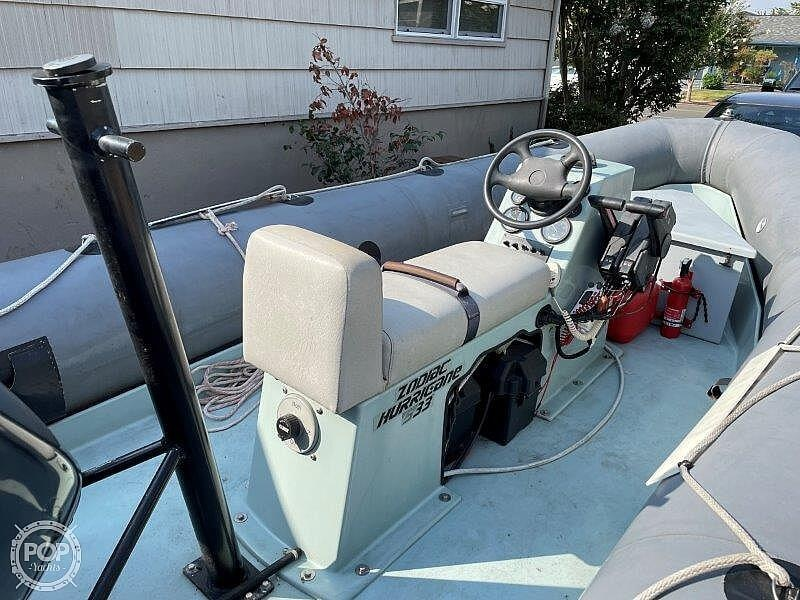 1999 Zodiac boat for sale, model of the boat is Hurricane H533 & Image # 22 of 40
