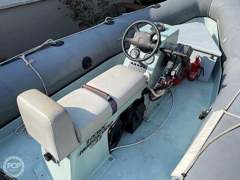 1999 Zodiac boat for sale, model of the boat is Hurricane H533 & Image # 33 of 40