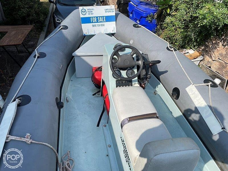 1999 Zodiac boat for sale, model of the boat is Hurricane H533 & Image # 34 of 40