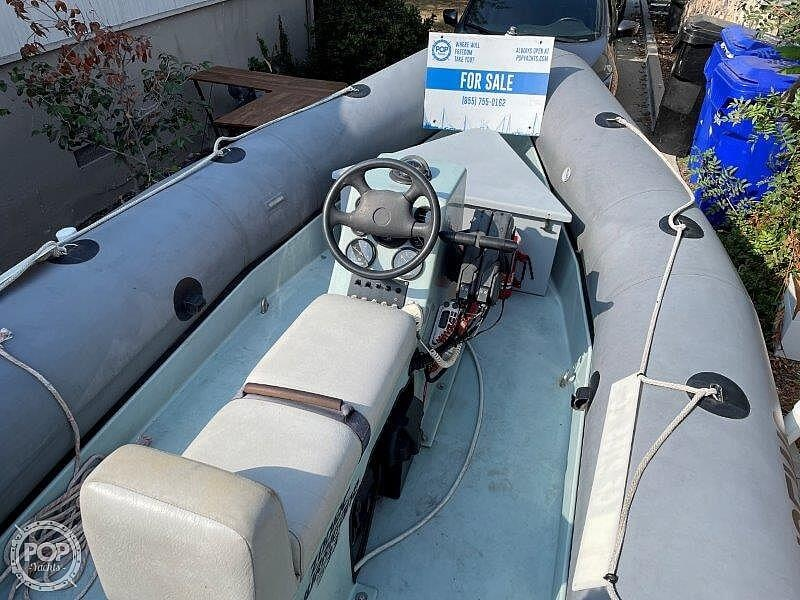 1999 Zodiac boat for sale, model of the boat is Hurricane H533 & Image # 35 of 40