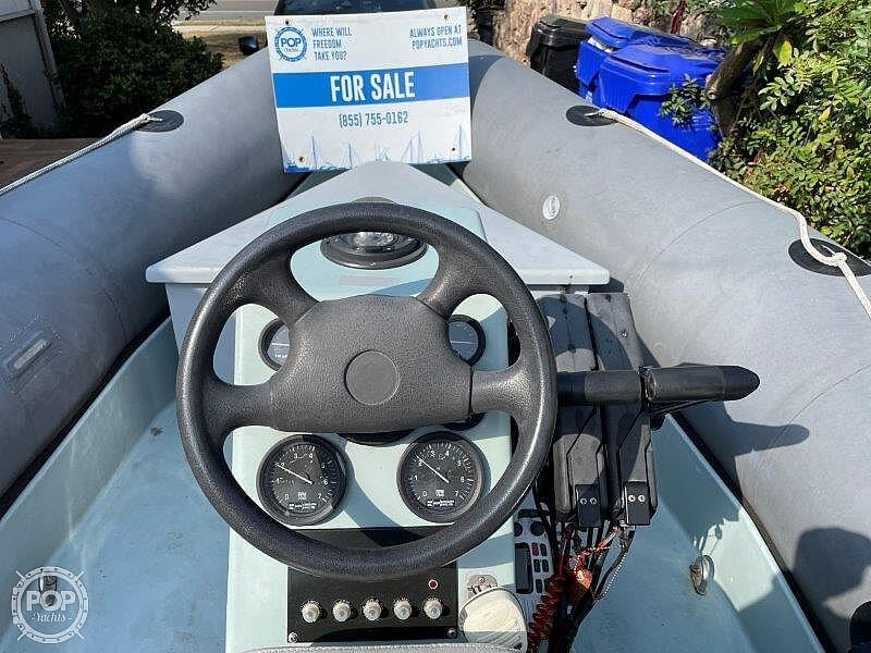 1999 Zodiac boat for sale, model of the boat is Hurricane H533 & Image # 38 of 40