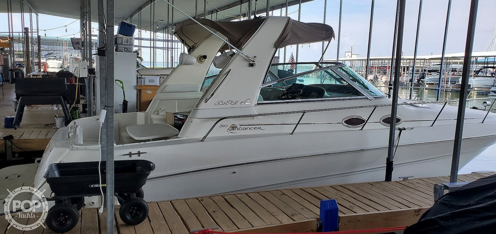 1998 Sea Ray boat for sale, model of the boat is 310 Sundancer & Image # 27 of 40