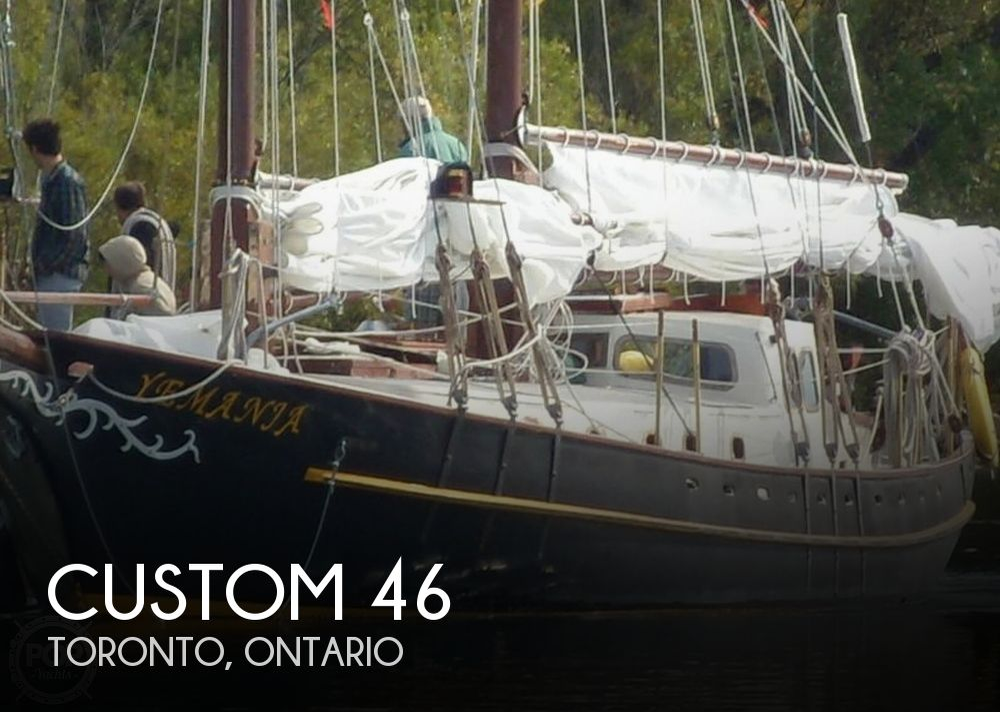 1986 Custom boat for sale, model of the boat is Hans Knoll 46 Schooner & Image # 1 of 5