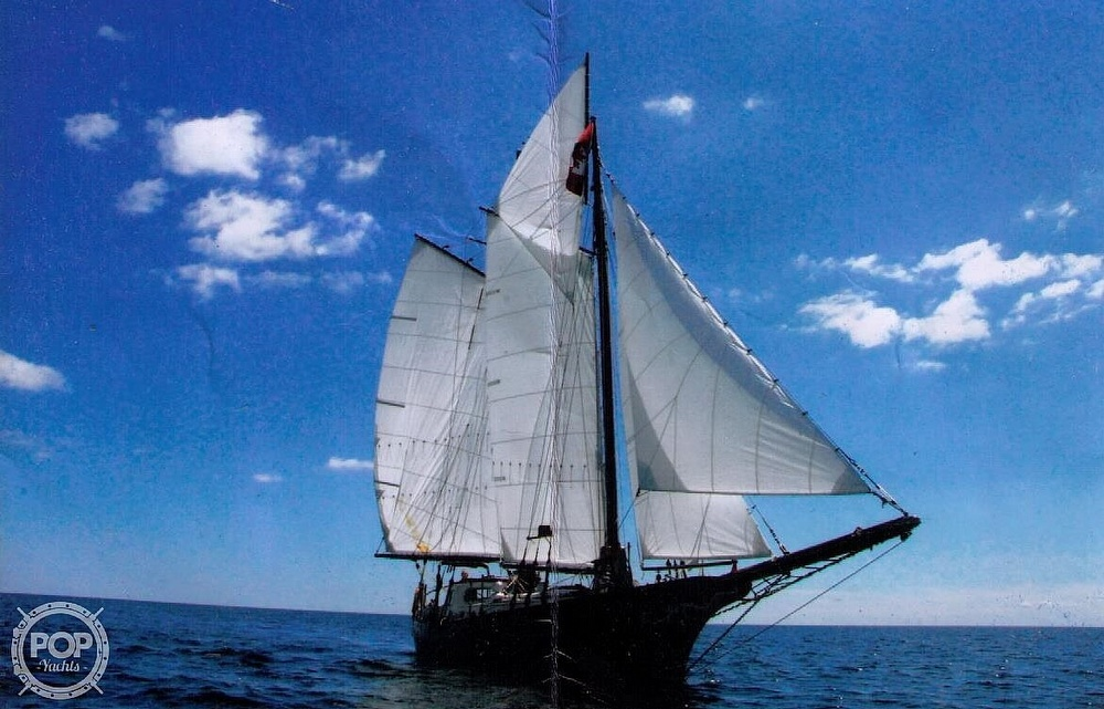 1986 Custom boat for sale, model of the boat is Hans Knoll 46 Schooner & Image # 2 of 5