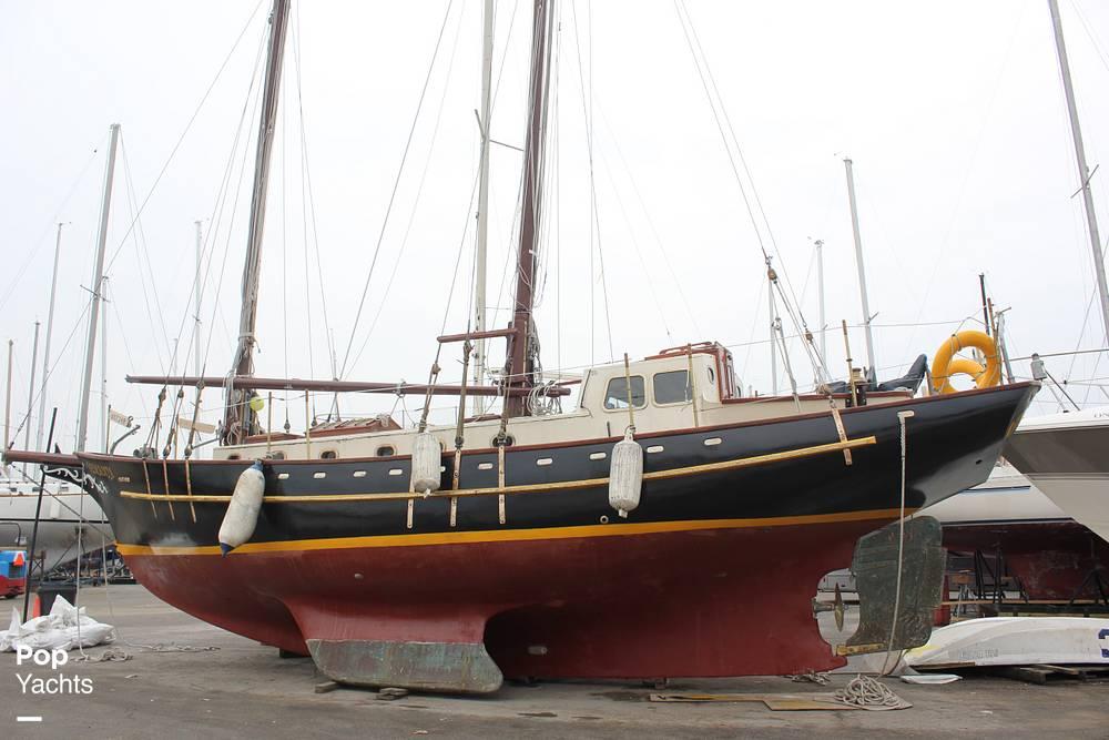1986 Custom boat for sale, model of the boat is Hans Knoll 46 Schooner & Image # 5 of 5