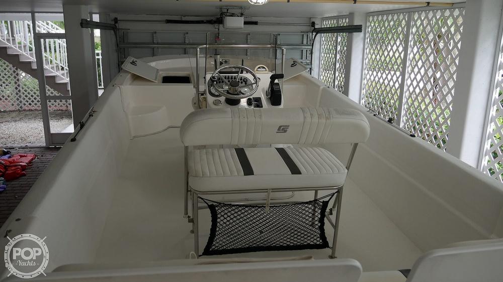 2011 Carolina Skiff boat for sale, model of the boat is 218 DLV & Image # 7 of 40