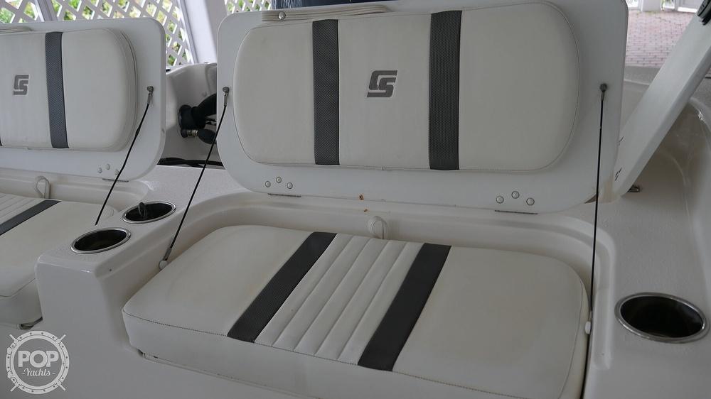2011 Carolina Skiff boat for sale, model of the boat is 218 DLV & Image # 24 of 40