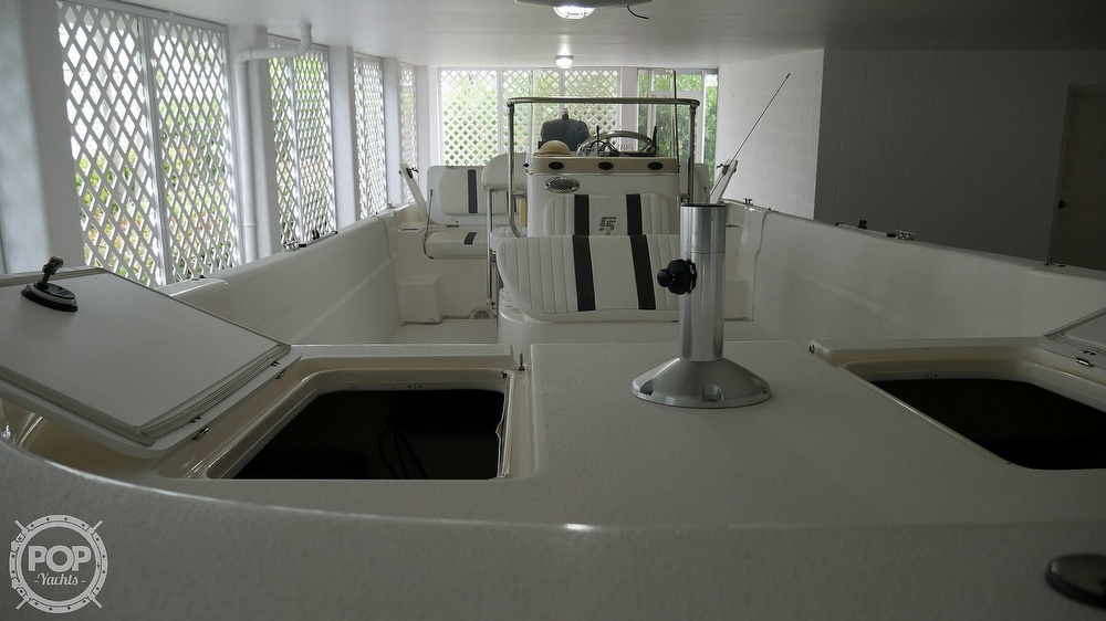 2011 Carolina Skiff boat for sale, model of the boat is 218 DLV & Image # 34 of 40