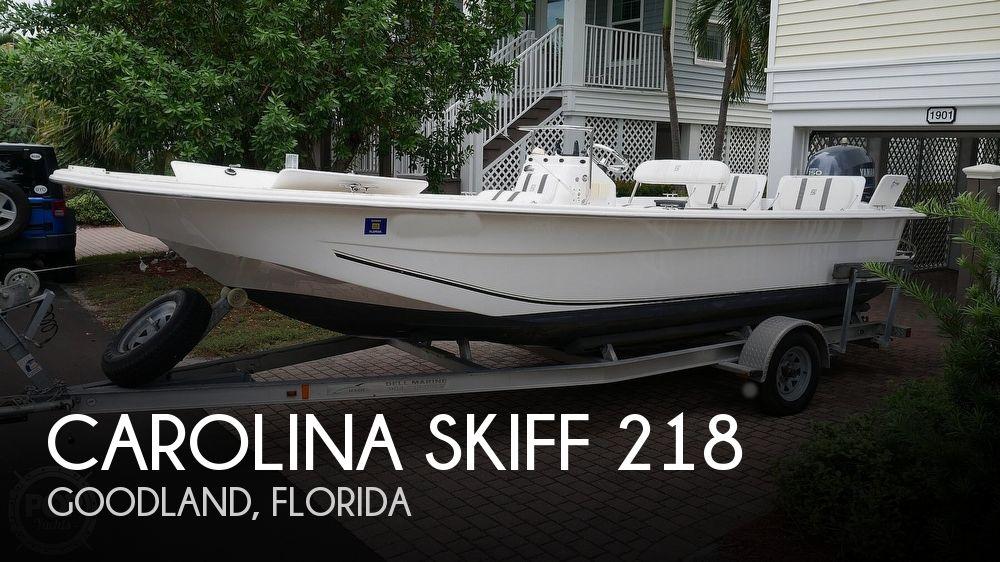2011 CAROLINA SKIFF 218 DLV for sale
