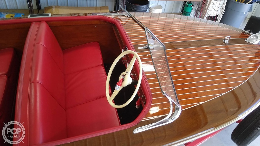 1948 Chris Craft boat for sale, model of the boat is Deluxe Runabout & Image # 6 of 40