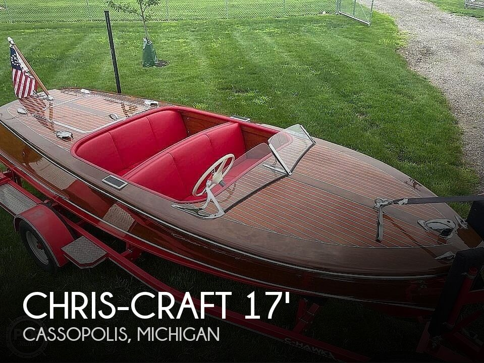 1948 Chris Craft boat for sale, model of the boat is Deluxe Runabout & Image # 1 of 40