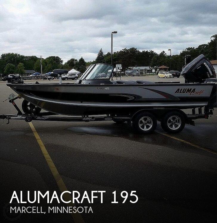 2016 Alumacraft boat for sale, model of the boat is T-Pro Sport 195 & Image # 1 of 9