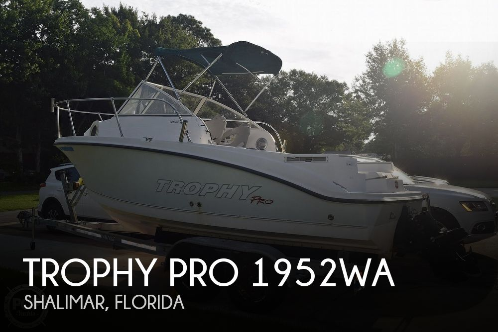 2008 Trophy boat for sale, model of the boat is Pro 1952WA & Image # 1 of 40