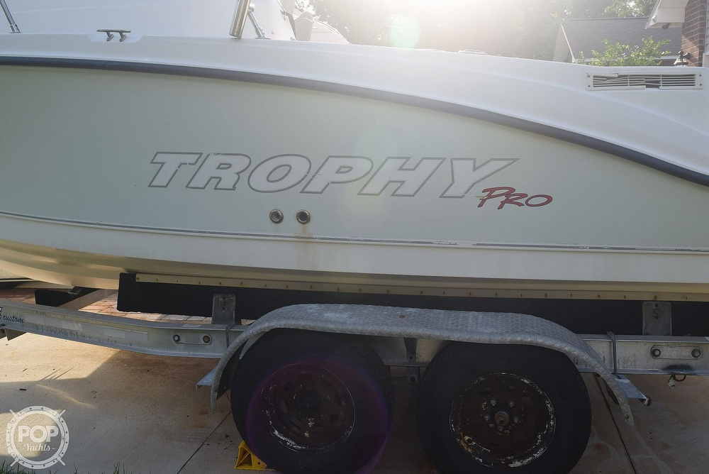 2008 Trophy boat for sale, model of the boat is Pro 1952WA & Image # 15 of 40