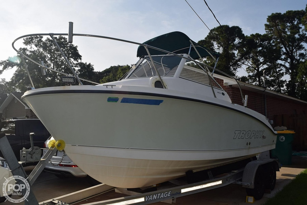 2008 Trophy boat for sale, model of the boat is Pro 1952WA & Image # 3 of 40