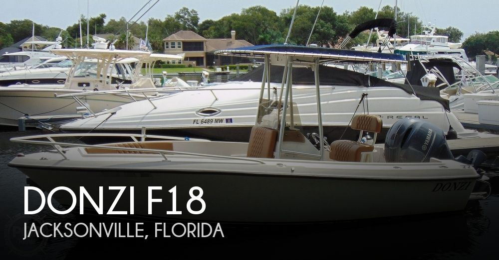 1990 Donzi boat for sale, model of the boat is F18 & Image # 1 of 40