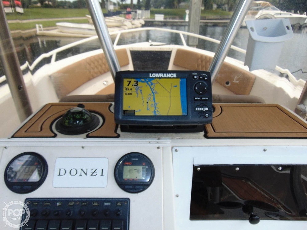 1990 Donzi boat for sale, model of the boat is F18 & Image # 22 of 40