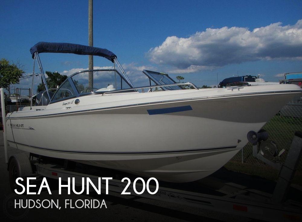 2008 SEA HUNT 200 ESCAPE LE for sale