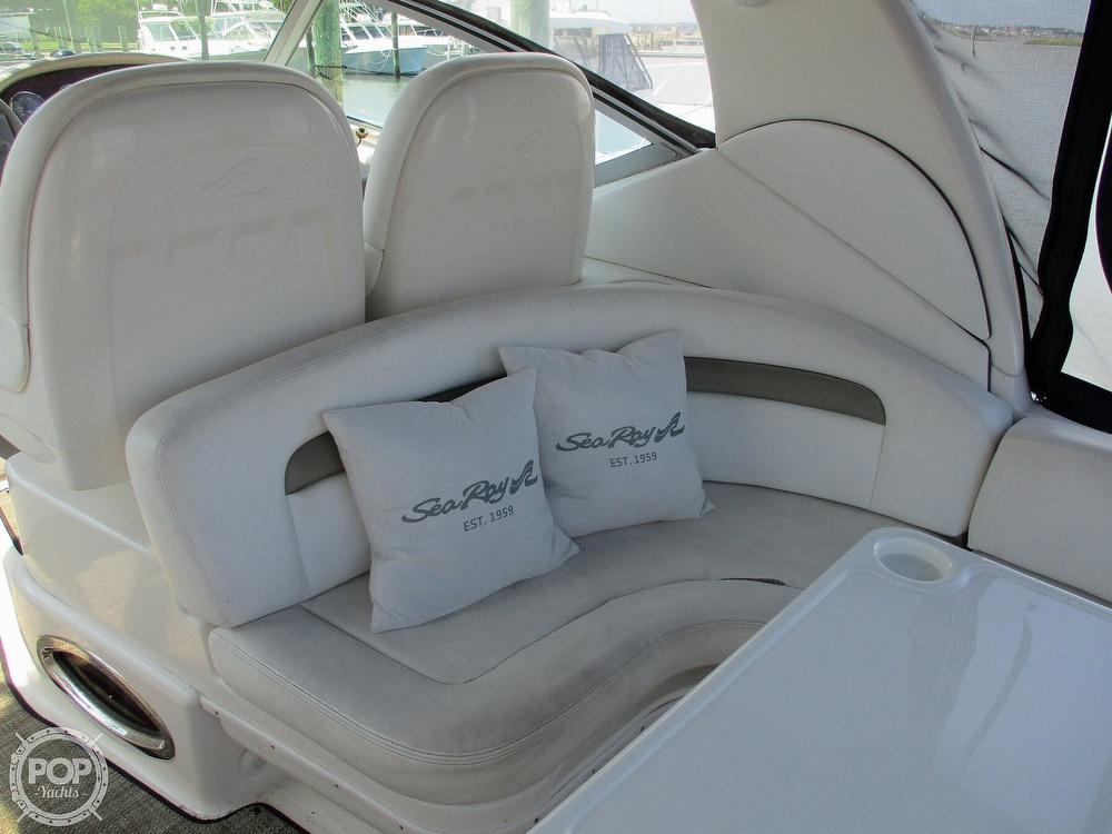 2006 Sea Ray boat for sale, model of the boat is 340 Sundancer & Image # 25 of 40