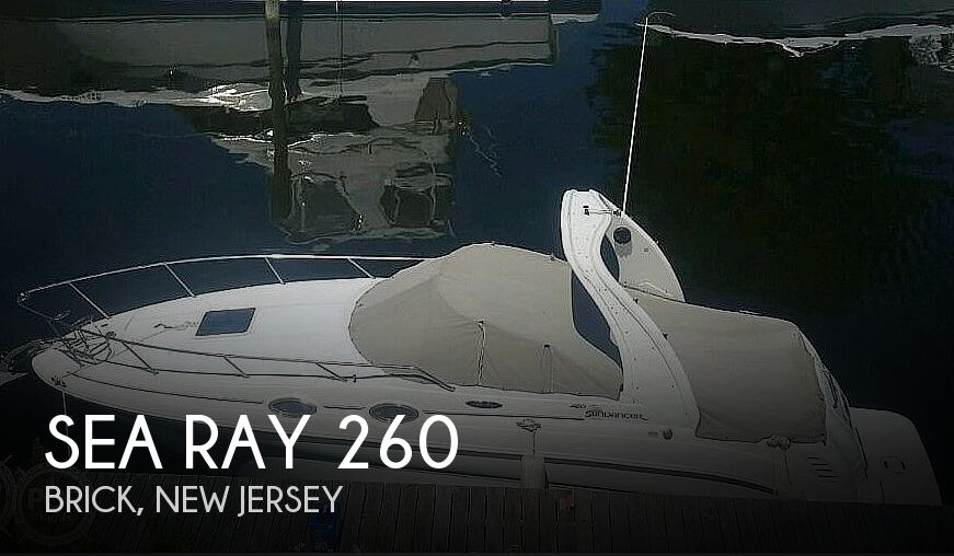 2003 Sea Ray boat for sale, model of the boat is 260 Sundancer & Image # 1 of 40