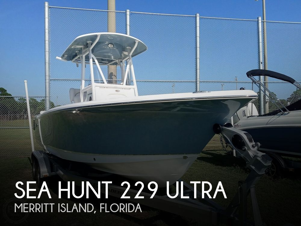 2021 Sea Hunt boat for sale, model of the boat is 229 Ultra & Image # 1 of 40