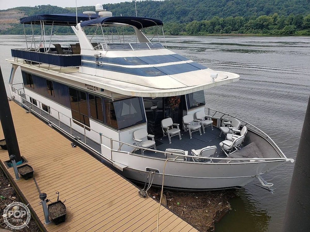 2001 Monticello boat for sale, model of the boat is 60 River Yacht & Image # 2 of 22