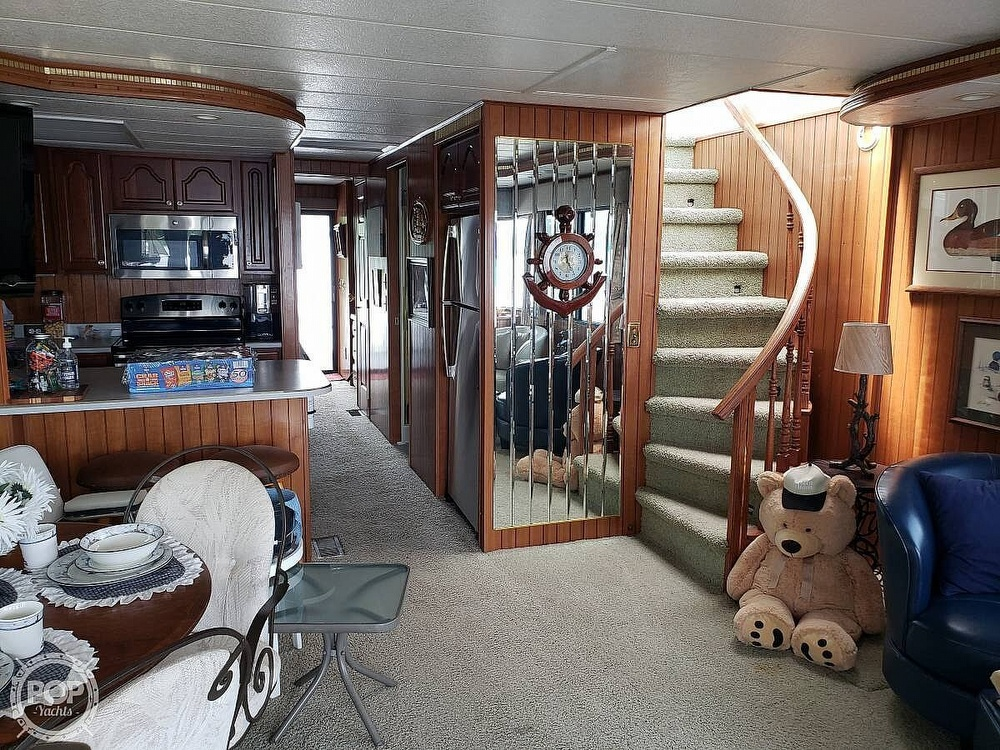 2001 Monticello boat for sale, model of the boat is 60 River Yacht & Image # 4 of 22
