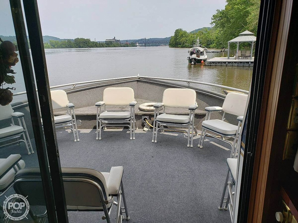 2001 Monticello boat for sale, model of the boat is 60 River Yacht & Image # 21 of 22