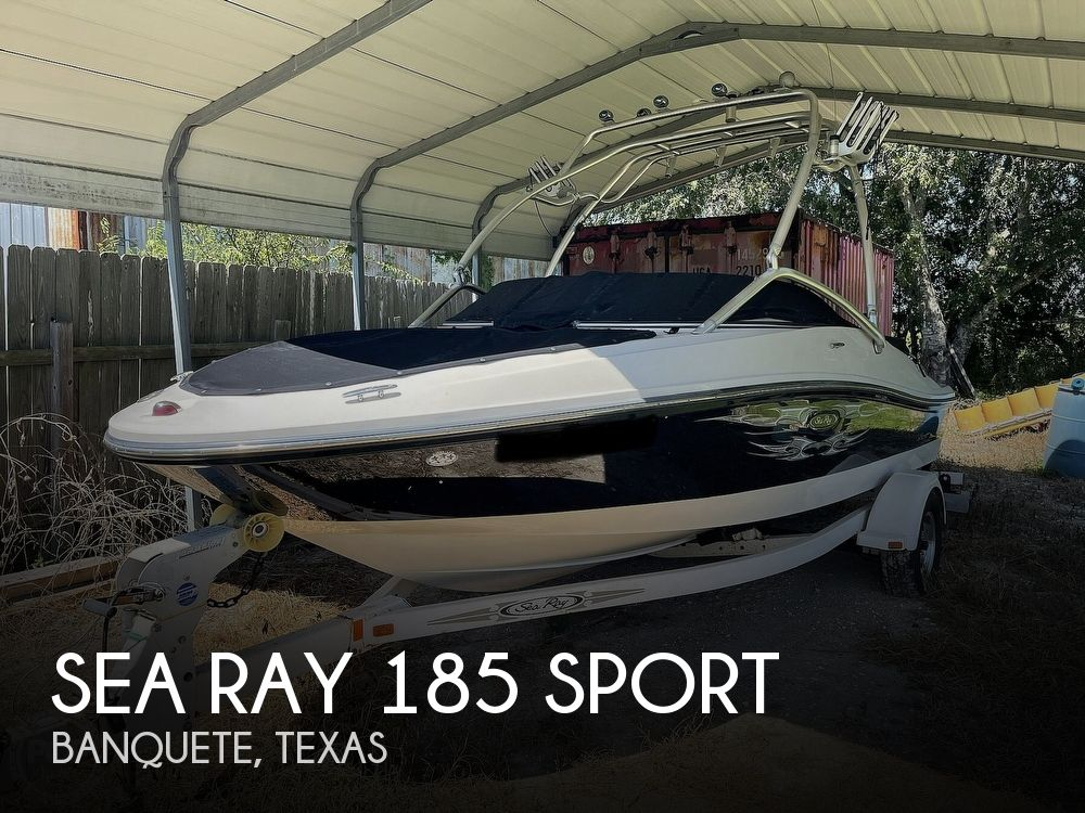 2008 Sea Ray boat for sale, model of the boat is 185 Sport & Image # 1 of 40