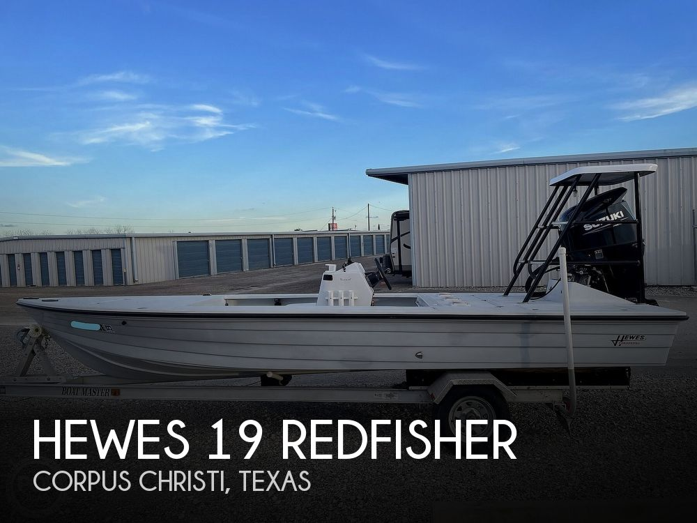 1995 Hewes boat for sale, model of the boat is 19 Redfisher & Image # 1 of 32