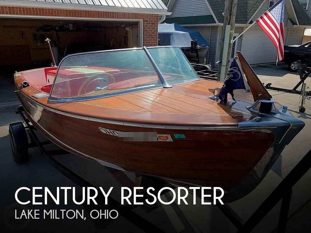 1956 Century boat for sale, model of the boat is Resorter & Image # 1 of 22