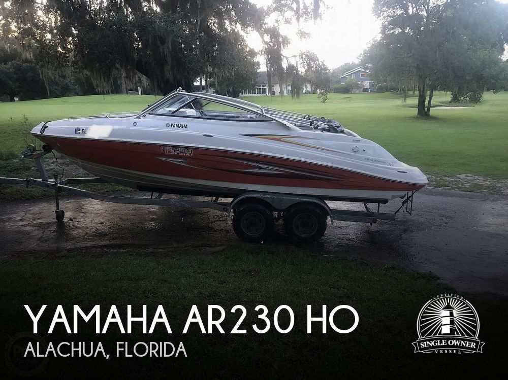 2007 Yamaha boat for sale, model of the boat is AR230 HO & Image # 1 of 38