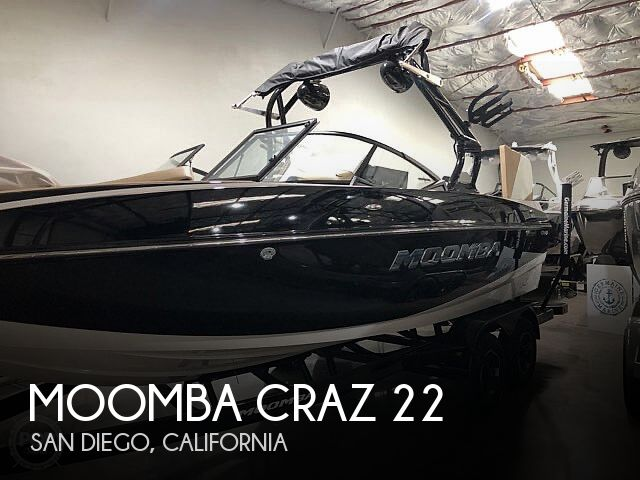 Used Moomba Boats For Sale by owner   2021 Moomba Craz 22