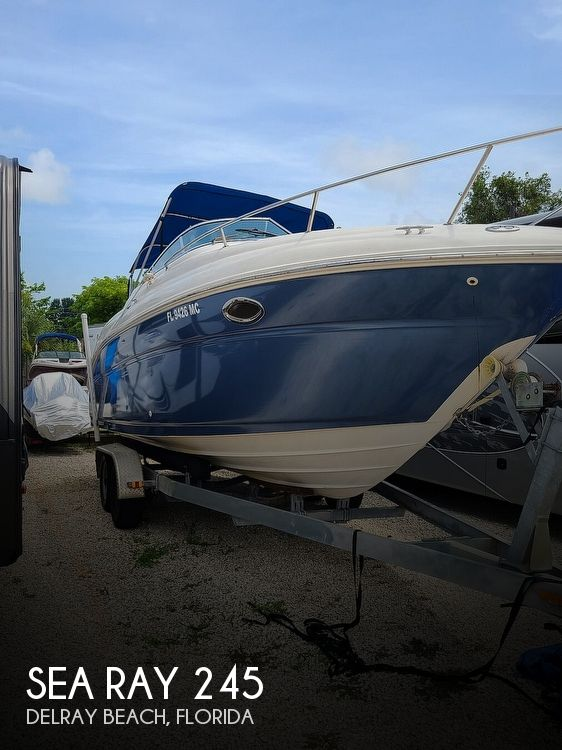 Used Sea Ray Weekender Boats For Sale by owner | 2003 Sea Ray 245 Weekender