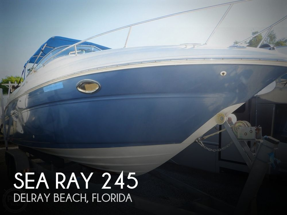 2003 Sea Ray boat for sale, model of the boat is 245 Weekender & Image # 1 of 40